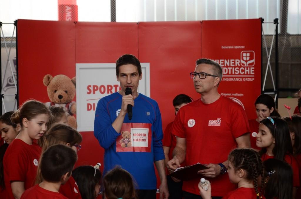 Detalj sa ceremonije otvaranja projekta u Beogradu.